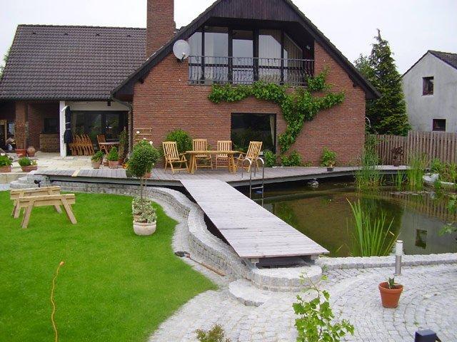 Terrassen | Fuhrberger Fachwerkhaus
